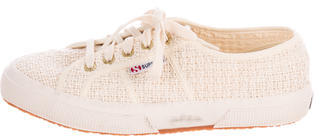Superga Crochet Round-Toe Sneakers $75 thestylecure.com