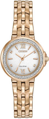 Citizen Women's 'Silhouette' Diamond Watch