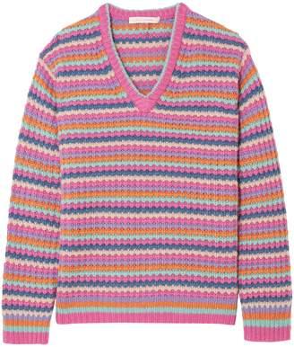 Marc Jacobs (マーク ジェイコブス) - マーク ジェイコブス ストライプ カシミヤ セーター