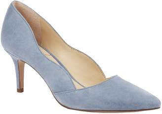 Sole Society Scalloped Leather Pumps - Edith