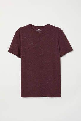 H&M Crew-neck T-shirt Slim fit - Red