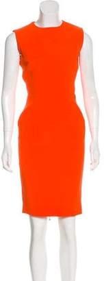 Victoria Beckham Sleeveless Sheath Dress