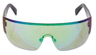 Celine Iridescent Shield Sunglasses