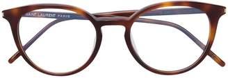 Saint Laurent (サン ローラン) - Saint Laurent Eyewear ラウンドフレーム サングラス
