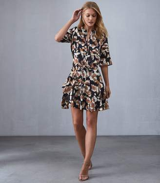 Reiss Kianni - Floral Day Dress in Multi