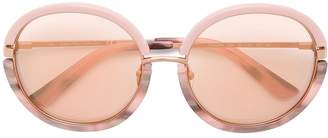 Calvin Klein rose tinted sunglasses