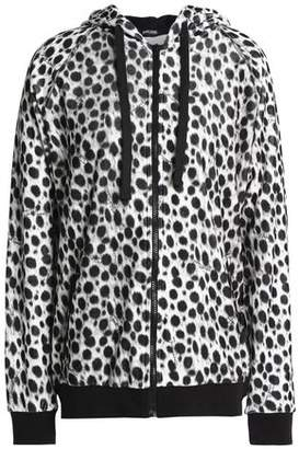Just Cavalli Printed Cotton-Blend Fleece Sweatshirt