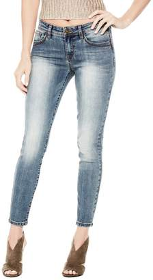 Factory Guess Women's Beyla Curvy Mid-Rise Skinny Jeans