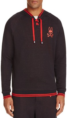 Pyscho Bunny Pullover Lounge Hoodie $49.50 thestylecure.com