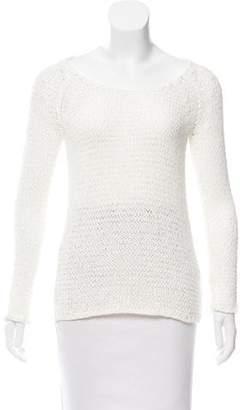 Ulla Johnson Distressed Open-Knit Sweater