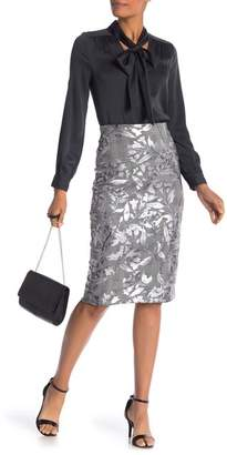 ECI Foil Floral Skirt