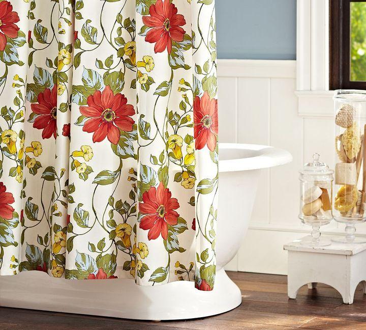 Sophia Organic Shower Curtain