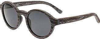 Earth Wood Maho Sunglasses Polarized Round