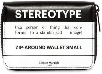 Maison Margiela (メゾン マルジェラ) - MAISON MARGIELA STEREOTYPE レザー ジップアラウンドウォレット