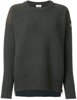 Moncler classic knitted sweater