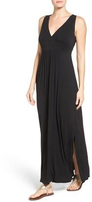 Women's Caslon Knit Maxi Dress $69 thestylecure.com