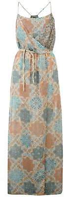 Pepe Jeans Womens Palm Dress Ladies Lightweight Sleeveless Casual Sundress
