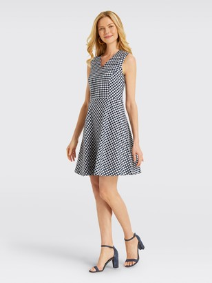 Draper James Gingham Love Circle Dress