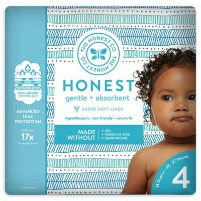 The Honest Company Honest 23-Pack Size 4 Diapers in Tribal Pattern