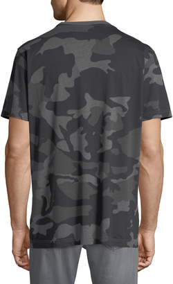 Wesc Men's Maxwell Cotton Jersey Camo T-Shirt