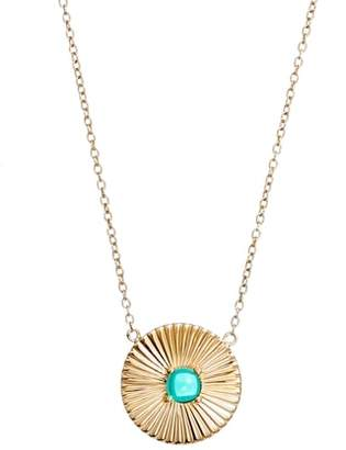 Jennifer Zeuner Jewelry Verde Pendant Necklace