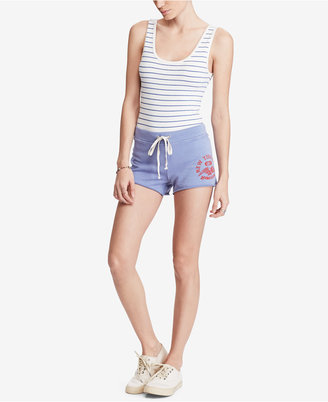 Denim & Supply Ralph Lauren Graphic French Terry Cotton Shorts $59.50 thestylecure.com