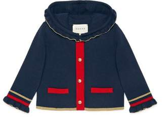 Gucci Baby wool cardigan with lurex