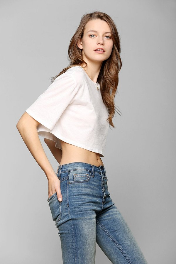 Urban Outfitters Corner Shop Gum Drop Cropped Tee