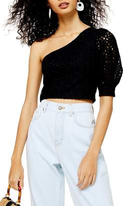 Topshop One-Shoulder Top