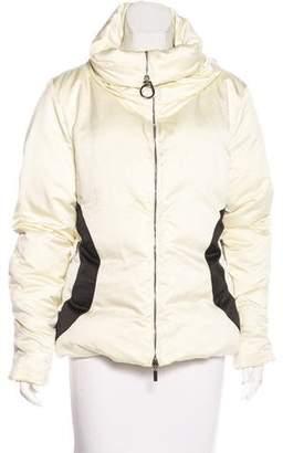Moncler Bicolor Down Coat