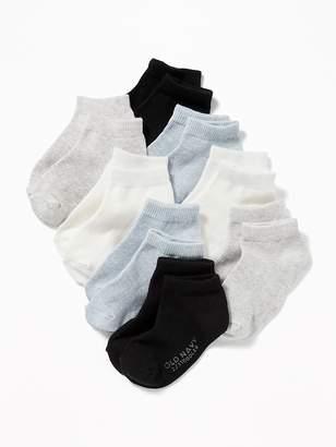 Old Navy Ankle Socks 8-Pack for Toddler & Baby