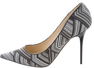 Jimmy Choo Jimmy Choo Knit Abel Pumps