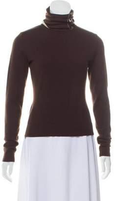 Chanel Lightweight Cashmere Sweater Brown Lightweight Cashmere Sweater