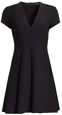 Emporio Armani Women's Cap Sleeve V-Neck Dress