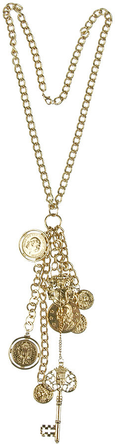 Delilah Coin & Key Necklace