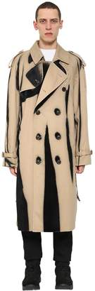 Maison Margiela Cotton Gabardine Trench Coat