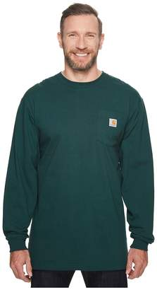 Carhartt Big Tall Workwear Pocket L/S Tee Men's T Shirt