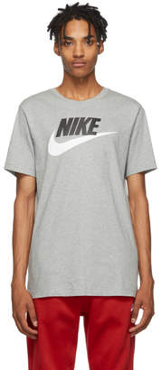 Nike Grey Icon Futura T-Shirt
