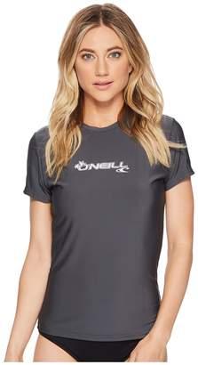 O'Neill Basic Skins S/S Rash Tee Women's Swimwear