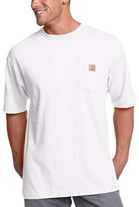 Carhartt Men's Big & Tall Workwear Pocket Short-Sleeve T-Shirt Original Fit K87