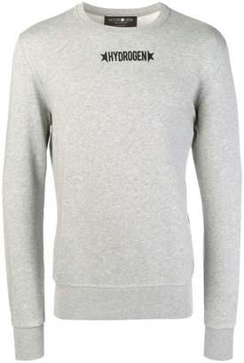 Hydrogen logo print sweatshirt