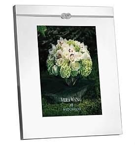 "Wedgwood Vera Wang Infinity Silver Frame 8 x 10"""