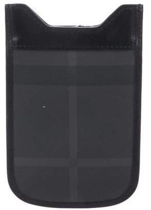 Burberry Smoked Check iPhone Sleeve