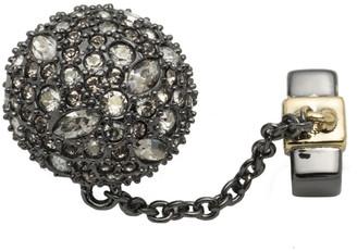 Alexis Bittar Pave Ball & Chain Slide