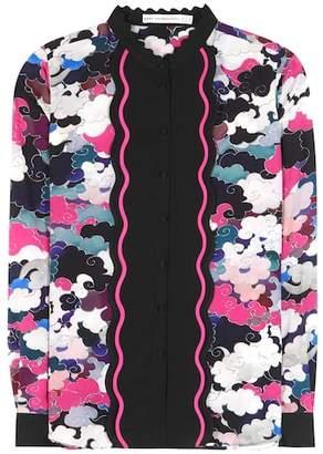 Mary Katrantzou Mica printed silk blouse
