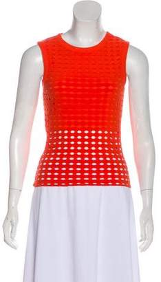 Alexander Wang Laser-Cut Sleeveless Top
