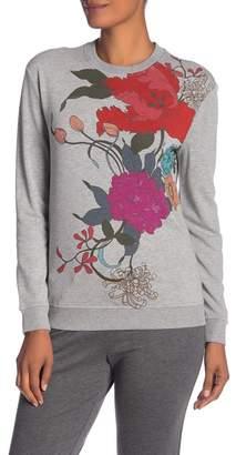Trina Turk Twine Floral Pullover