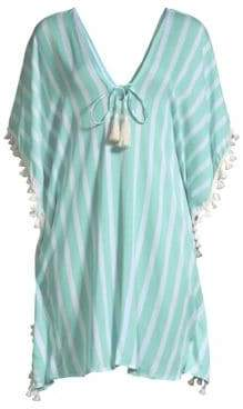 Cool Change coolchange coolchange Women's Positano Oversized Toiny Stripe Tunic - Clearwater - Size Large