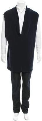 Harold Kensington Sleeveless Deep V-Neck Sweater