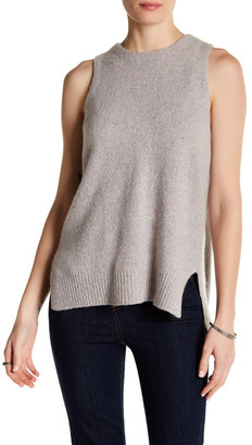 360 Cashmere Phoebe Sleeveless Cashmere Sweater $299 thestylecure.com